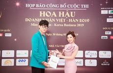 'Hoa hậu Doanh nhân Việt - Hàn 2019' thi chui không phép?