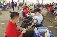 Hơn 600 đoàn viên tham gia hiến máu tình nguyện