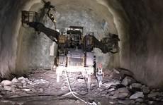 Hầm Hải Vân 2 sắp về đích