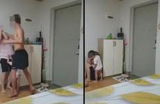 Chồng Hàn Quốc đánh vợ Việt gãy xương trước mặt con, cộng đồng mạng dậy sóng
