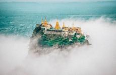 Những ngôi đền, chùa dát vàng, đính kim cương ở Myanmar
