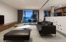 Gia chủ Hà Nội gộp hai căn hộ thành một 'biệt thự trên không'