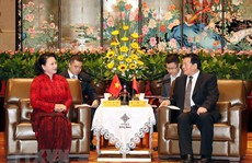 Chủ tịch Quốc hội bắt đầu thăm chính thức Trung Quốc