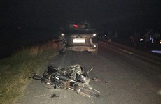 3 em nhỏ đi xe đạp điện tử vong trong vụ tai nạn giao thông thảm khốc