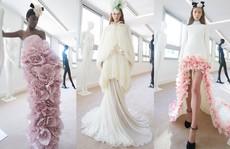Những bộ đầm được làng mốt khen ngợi ở Tuần thời trang Paris