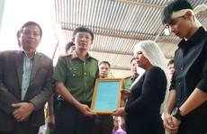 Xúc động tiễn biệt công an viên Phạm Minh Tú tử vong do cứu người trong lũ dữ