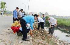 Hà Nội: CNVC-LĐ tạo cảnh quan môi trường sạch, đẹp