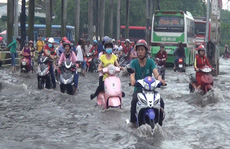 """Bạn đọc """"hiến kế"""" giải pháp chống sụt lún ở TP HCM"""
