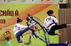 Châu Tuyết Vân cùng đồng đội 'bay như chim' tại giải Vô địch Taekwondo châu Á mở rộng 2019
