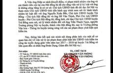 Giám đốc Sở Nội vụ Quảng Ngãi bị kiểm điểm vì 'gửi gắm' thí sinh thi tuyển giáo viên