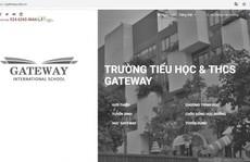 Trường Gateway và nhiều cơ sở giáo dục âm thầm xoá mác 'quốc tế'