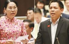 'Tôi không hài lòng với phần trả lời của Bộ trưởng GTVT'