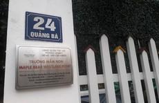 Trường mầm non nhốt học sinh vào tủ dừng hoạt động từ 30-8
