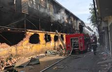 Nguy cơ nhiễm độc sau vụ cháy nhà máy Bóng đèn Phích nước Rạng Đông