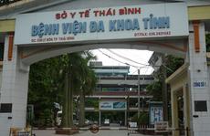 Phòng Giám đốc và 2 Phó giám đốc bệnh viện tỉnh Thái Bình bị kẻ gian đột nhập