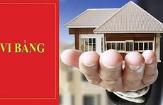 Cần lưu ý khi mua bán nhà đất qua vi bằng