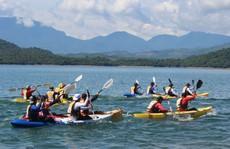 Độc đáo hồ Phú Ninh