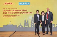 DHL hợp tác Decathlon cung cấp chuỗi cung ứng quốc tế