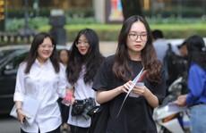 ĐH quốc gia Hà Nội công bố điểm chuẩn trúng tuyển: Cao nhất 25,5 điểm
