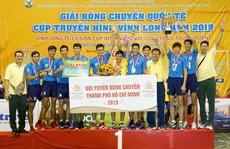 Nữ Truyền hình Vĩnh Long và nam TP HCM vô địch bóng chuyền quốc tế