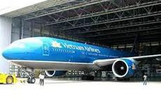 Phát hiện xác chim trên mũi bị móp của máy bay Vietnam Airlines