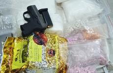 Đánh sập đường dây ma túy có súng đã lên nòng, thu 35 kg 'hàng đá'