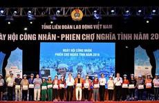 Phó Chủ tịch nước Đặng Thị Ngọc Thịnh tham dự Ngày hội công nhân