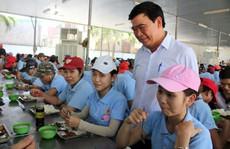 Giúp công nhân có bữa ăn ngon