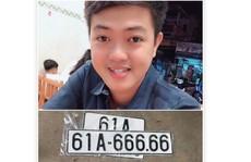Giữa tâm 'bão mạng', chủ xe hơi bốc được số 61A-666.66 trao đổi riêng với Báo Người Lao Động
