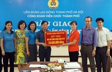 Hà Nội: Hỗ trợ đoàn viên nghèo an cư