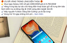 Lừa bán điện thoại giả qua fanpage mạo danh Lazada, Shopee…