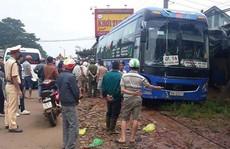 Xe khách tông xe máy, 2 người tử vong