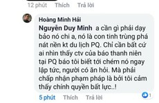 Đưa tin ngập ở Phú Quốc, CTV Báo Thanh Niên bị chủ quán phở dọa chém
