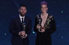 FIFA bị tố gian lận phiếu, giúp Messi đoạt giải 'The Best'