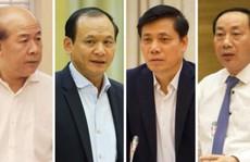 Thủ tướng kỷ luật 4 Thứ trưởng, nguyên Thứ trưởng Bộ GTVT