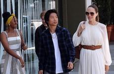 Angelina Jolie duyên dáng bên Pax Thiên, Zahara, Shiloh