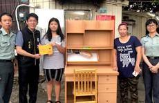 Vượt nghịch cảnh học giỏi, nữ sinh gốc Việt gây bão mạng xã hội Đài Loan