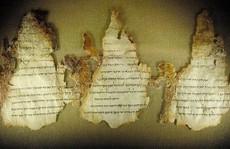 Cổ văn Biển Chết tiết lộ 'phép lạ' làm những vật chất 2.000 năm không tan rã
