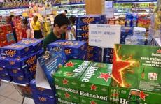 Giảm nhậu, giá bia Tết vẫn tăng