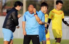 Đội hình xuất phát U23 Việt Nam gặp UAE tối nay: Sẽ có bất ngờ ở đường biên?
