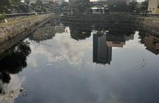 Hào thành cổ Vinh thành nơi chứa nước thải