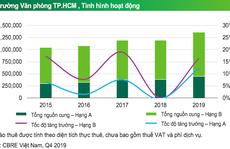 TP HCM: Giá thuê văn phòng hạng A dự báo giảm 2%