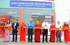 An Giang: Khai trương cửa hàng tiện ích phục vụ công nhân