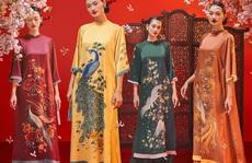 Thướt tha, duyên dáng áo dài du xuân của sao Việt