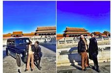 Hot girl khoe xe ở Tử Cấm Thành, con nhà giàu Trung Quốc lại 'lên thớt'