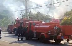 Cháy lớn tại Cơ sở Bảo trợ xã hội Madagui Đạ Huoai - Lâm Đồng