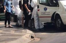 Sợ virus corona, người dân gọi cấp cứu 1 người Đài Loan bị nôn ói
