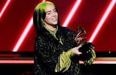 Billie Eilish 'chiếm trọn' Grammy 2020