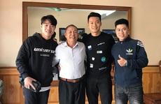 Xuân Trường rủ 'sao' Hà Nội FC thăm thầy cũ trước ngày lên đường sang Hàn Quốc