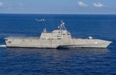 Tàu chiến Mỹ thách thức Trung Quốc ở biển Đông